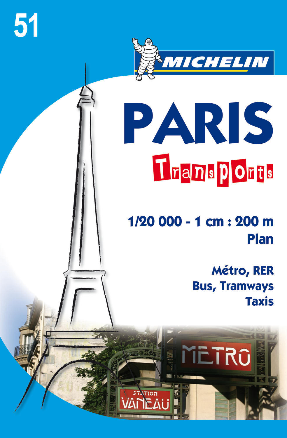 PARIS TRANSPORTS - PLAN