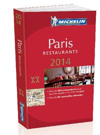PARIS - LE GUIDE MICHELIN 2014
