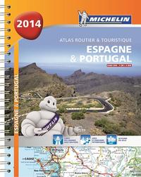 ESPAGNE & PORTUGAL A2014 - ATLAS ROUTIER ET TOURISTIQUE