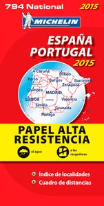 ESPANA, PORTUGAL 2015 - PAPEL ALTA RESISTENCIA / ESPAGNE, PORTUGAL 2015 - INDECHIRABLE
