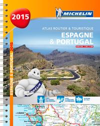 ESPAGNE & PORTUGAL 2015 - ATLAS ROUTIER ET TOURISTIQUE