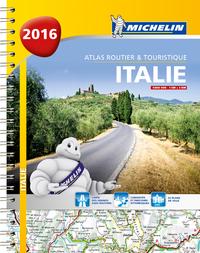 ITALIE 2016 - ATLAS ROUTIER ET TOURISTIQUE - A4 SPIRALE