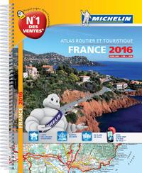 ATLAS ROUTIER FRANCE 2016 (A4-SPIRALE)