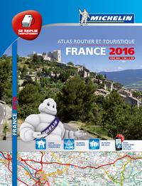 ATLAS ROUTIER FRANCE 2016 - TOUS LES SERVICES UTILES (A4-MULIFLEX)
