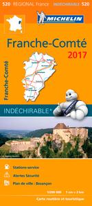 CARTE REGIONALE 520 FRANCHE COMTE 2017