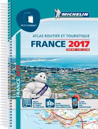 ATLAS FRANCE 2017 PETIT FORMAT