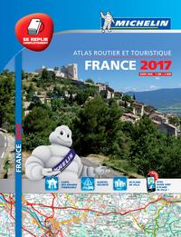 ATLAS ROUTIER FRANCE 2017 TOUS LES SERVICES UTILES (A4-MULIFLEX)