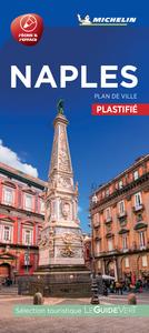 NAPLES - PLAN DE VILLE PLASTIFIE