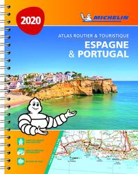 ESPAGNE & PORTUGUAL 2020 - ATLAS ROUTIER ET TOURISTIQUE