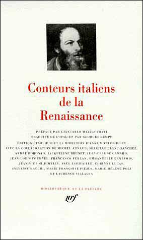 Conteurs italiens de la renaissance