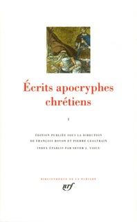 ECRITS APOCRYPHES CHRETIENS