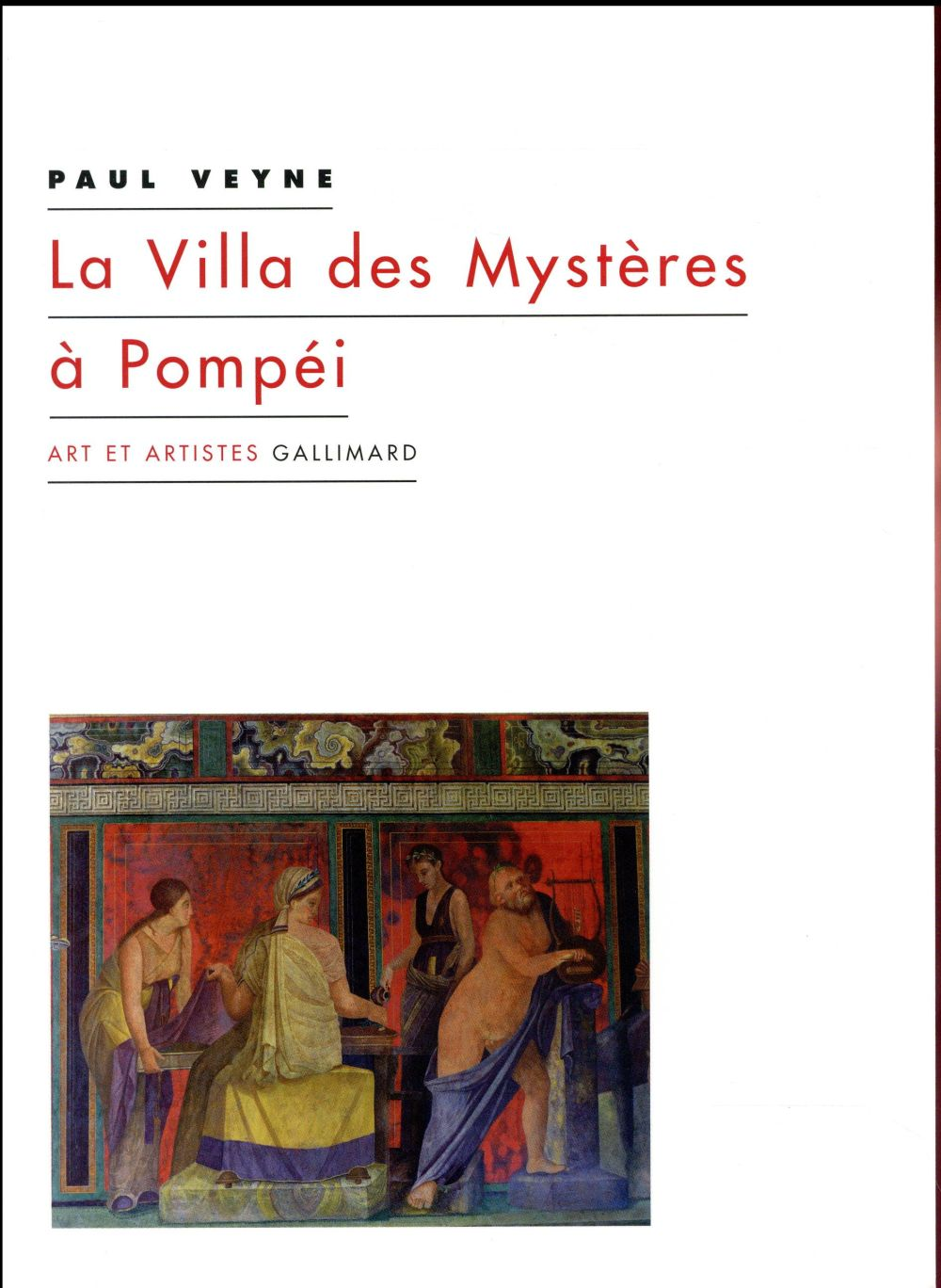La villa des mysteres a pompei