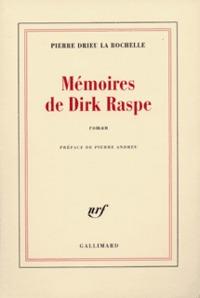 MEMOIRES DE DIRK RASPE