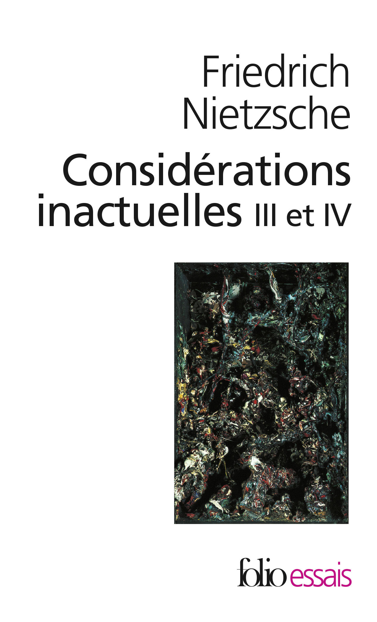 CONSIDERATIONS INACTUELLES III ET IV