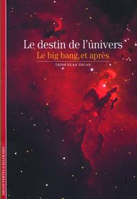 LE DESTIN DE L'UNIVERS - LE BIG BANG, ET APRES