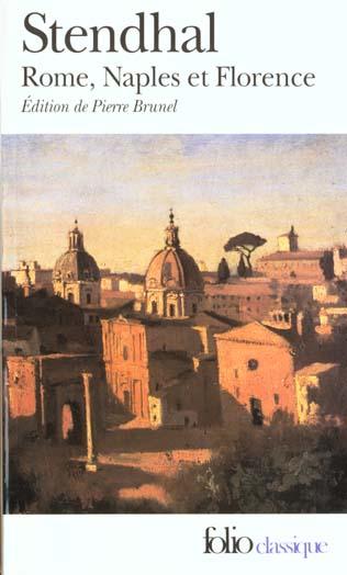 ROME, NAPLES ET FLORENCE - (1826)