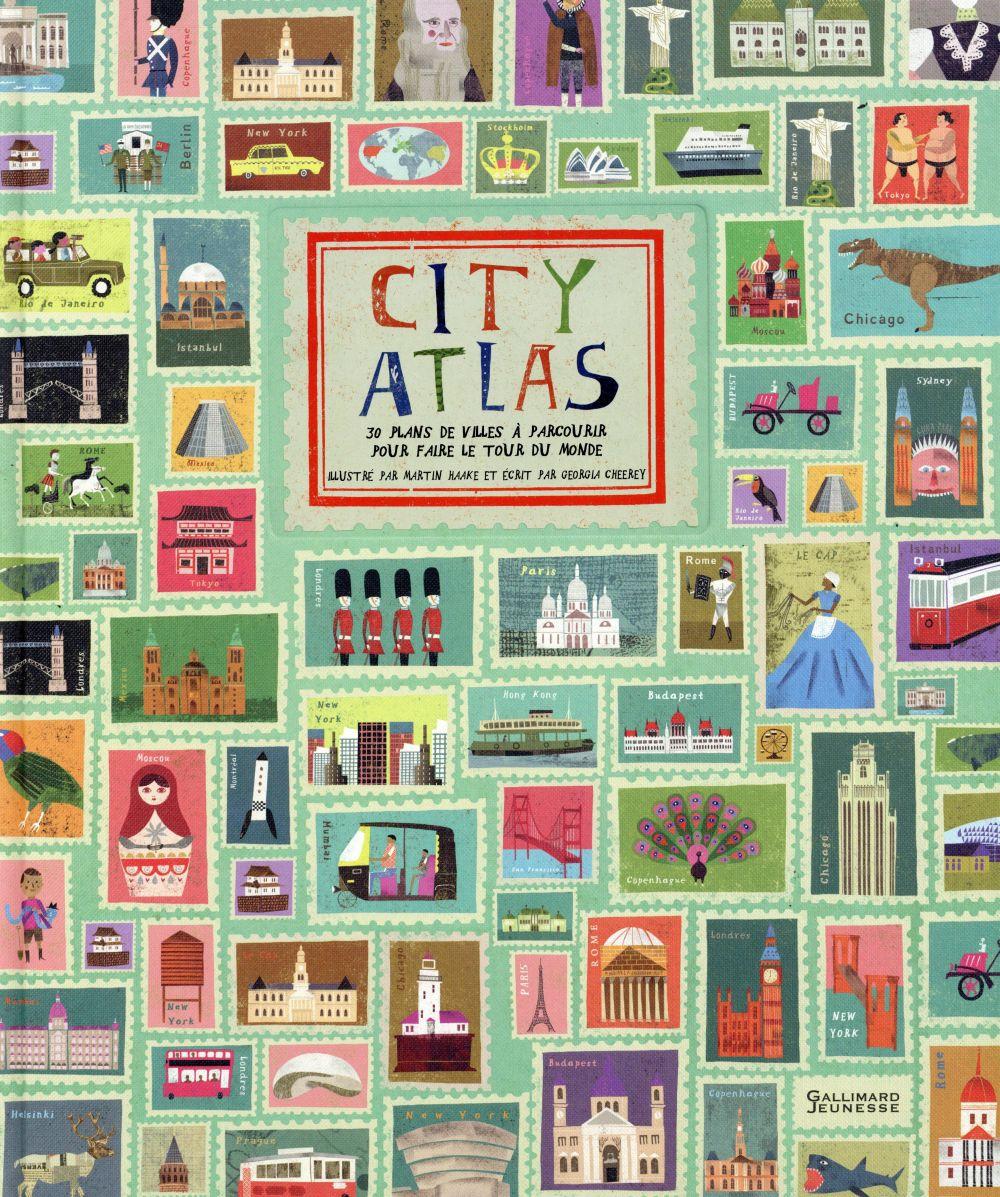 CITY ATLAS (FAITES LE TOUR DU MONDE EN 30 PLANS DE VILLES)