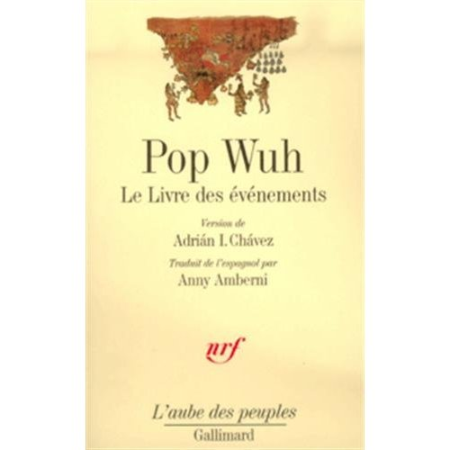 POP WUH - LE LIVRE DES EVENEMENTS
