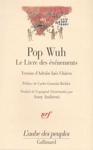 POP WUH - LE LIVRE DES EVENEMENTS