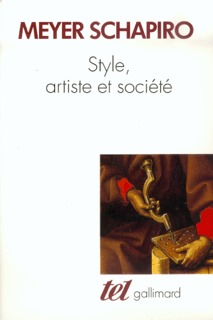 STYLE, ARTISTE ET SOCIETE ESSAIS