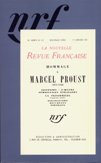 HOMMAGE A MARCEL PROUST - (1871-1922)