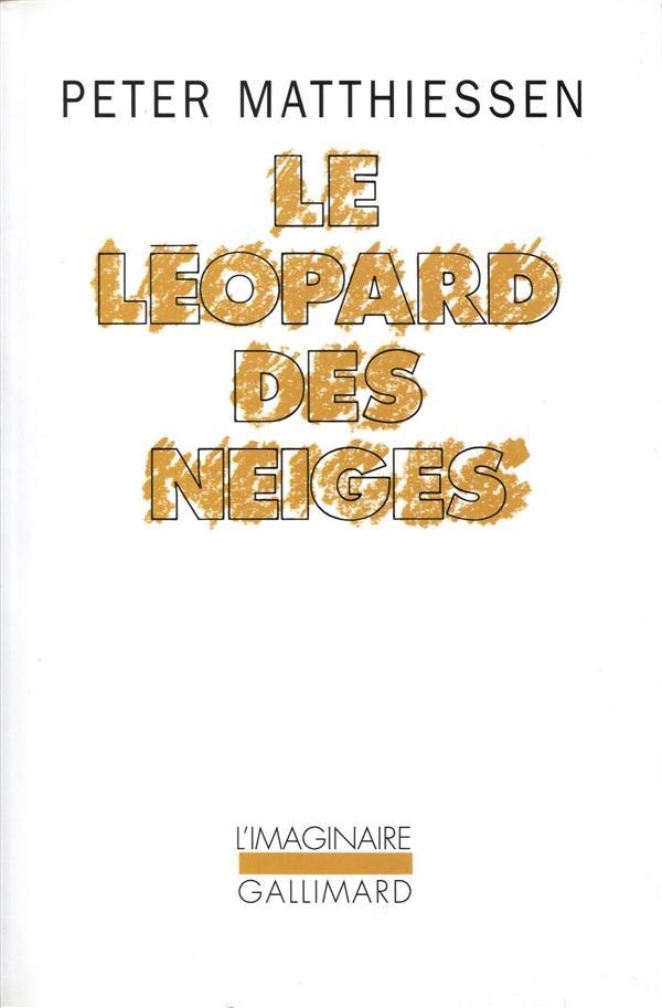 Le leopard des neiges