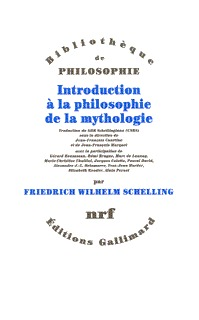 INTRODUCTION A LA PHILOSOPHIE DE LA MYTHOLOGIE