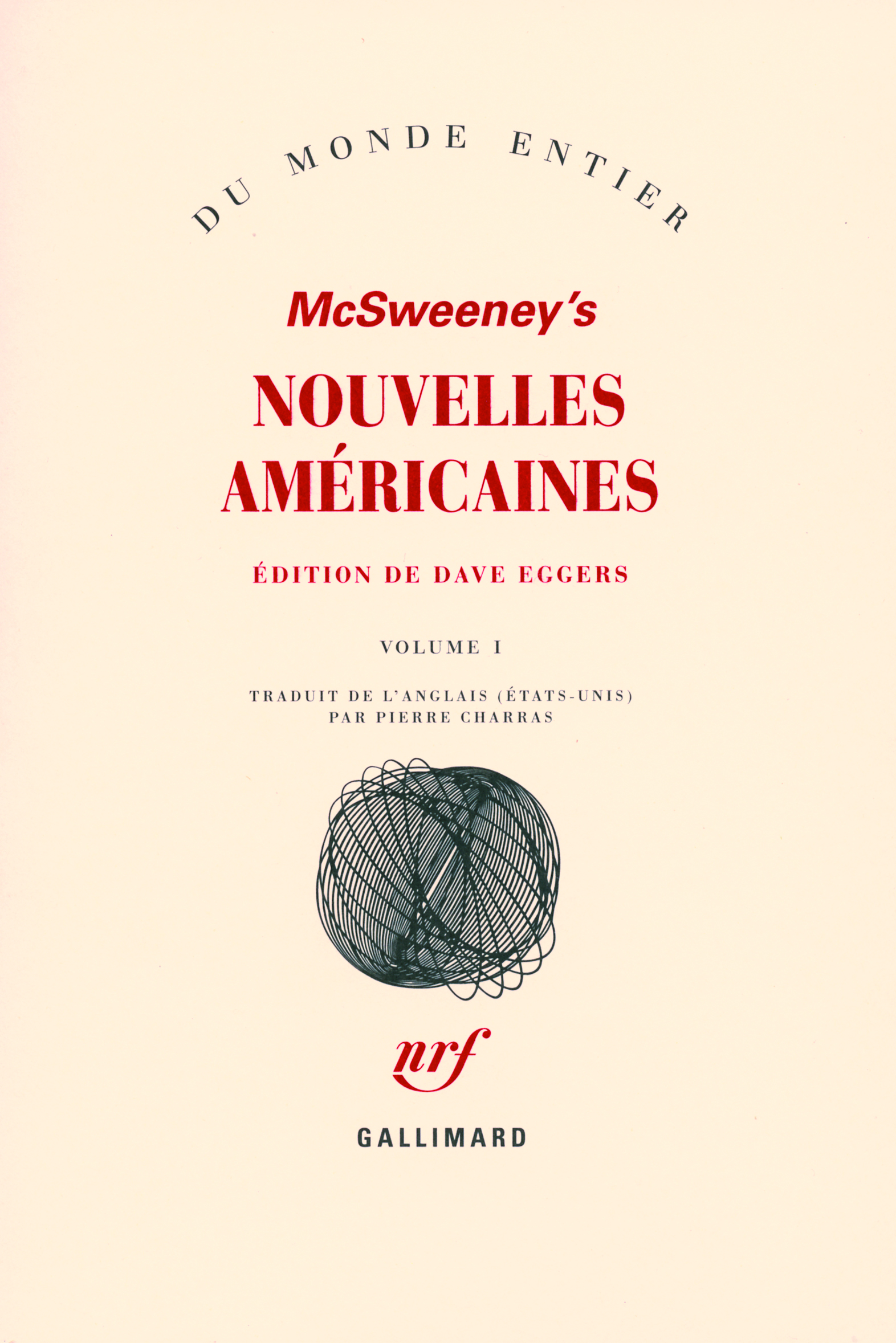 MCSWEENEY'S : NOUVELLES AMERICAINES (TOME 1)
