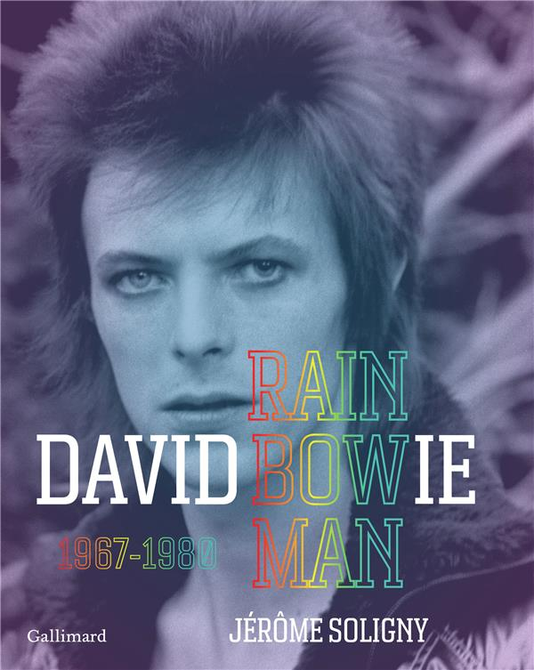 DAVID BOWIE - RAINBOWMAN (1967-1980)