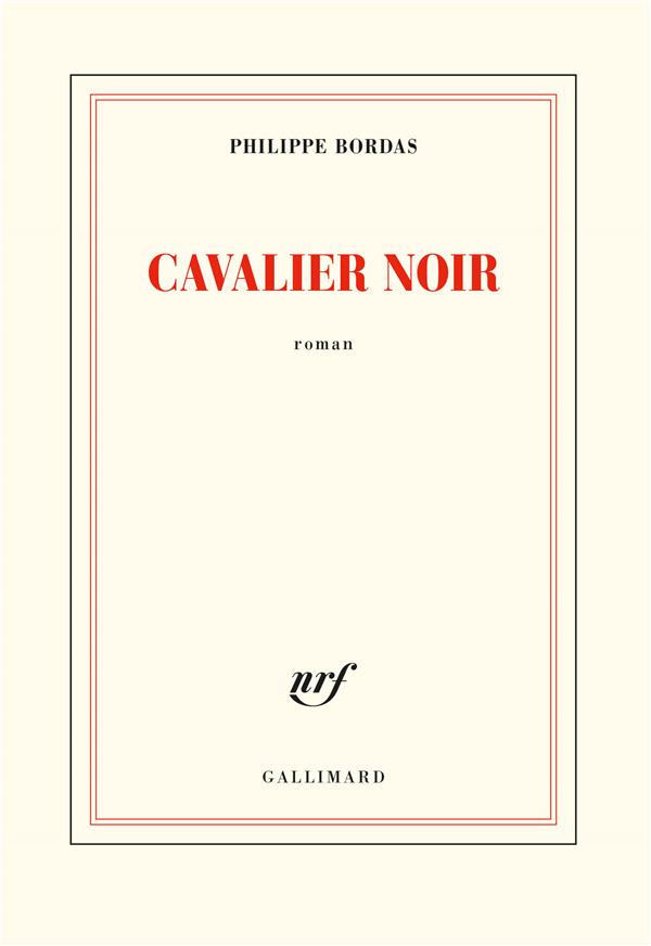 CAVALIER NOIR