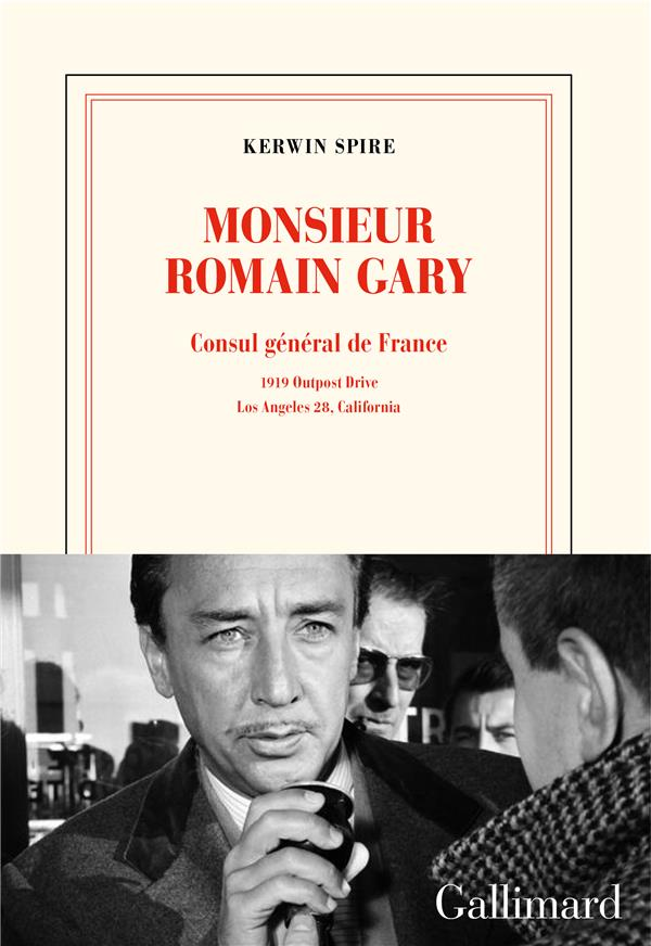 Monsieur romain gary - consul general de france - 1919 outpost drive - los angeles 28, california