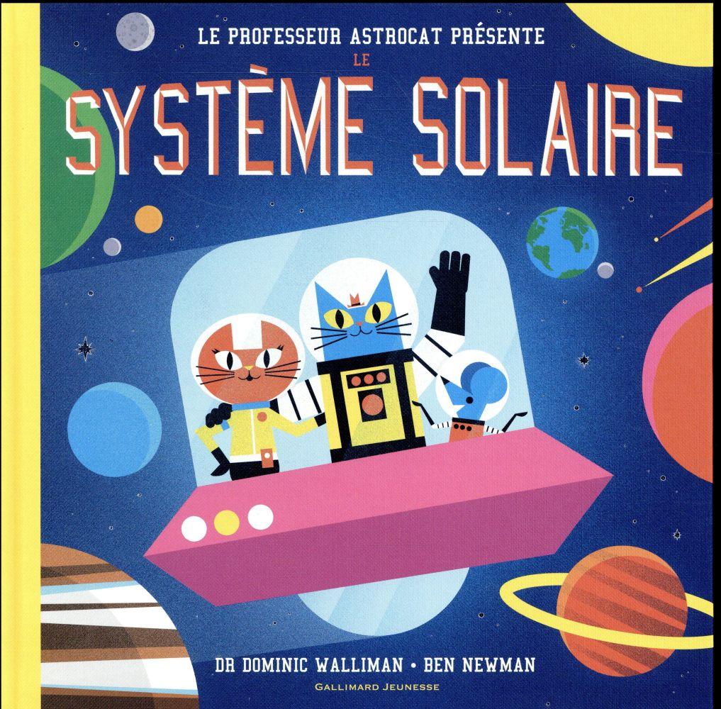 Professeur astrocat : le systeme solaire