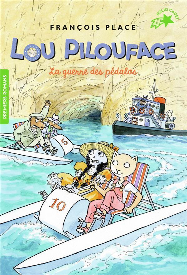 Lou pilouface, 9 : la guerre des pedalos