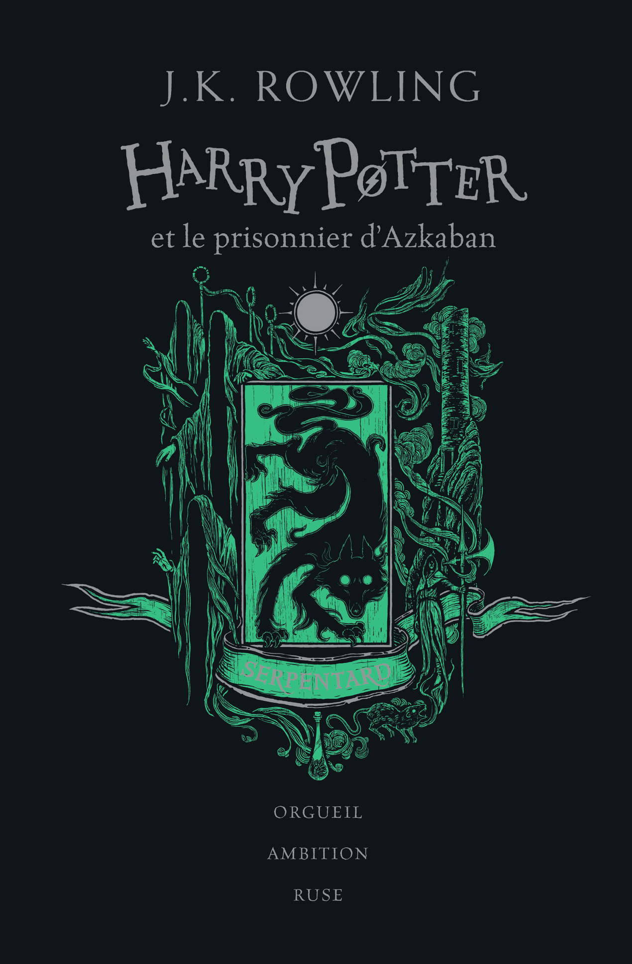 HARRY POTTER ET LE PRISONNIER D'AZKABAN - SERPENTARD