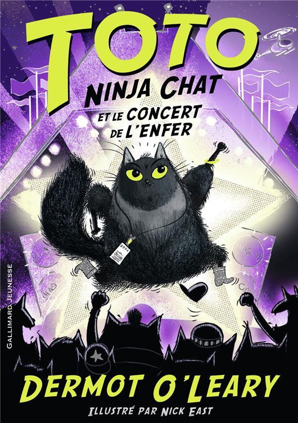 Toto ninja chat et le concert de l'enfer