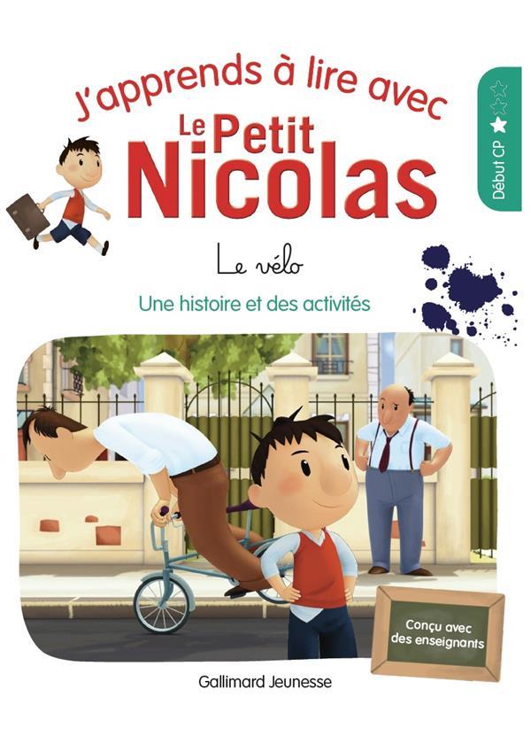 J'APPRENDS A LIRE AVEC LE PETIT NICOLAS - T03 - LE VELO