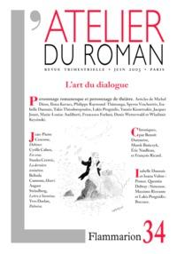 L'ATELIER DU ROMAN - L'ART DU DIALOGUE