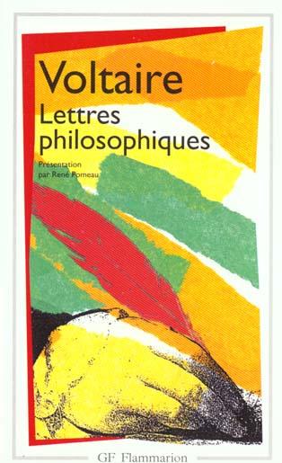 Lettres philosophiques - derniers ecrits sur dieu
