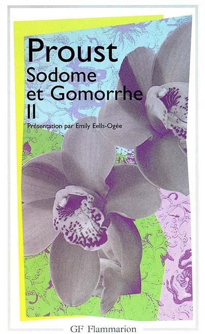 LITTERATURE ET CIVILISATION - T02 - SODOME ET GOMORRHE