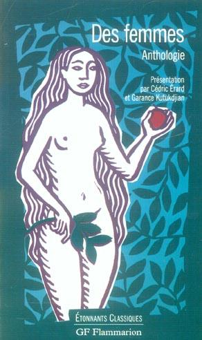 DES FEMMES - ANTHOLOGIE