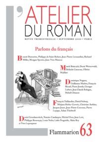 L'ATELIER DU ROMAN - PARLONS DU FRANCAIS