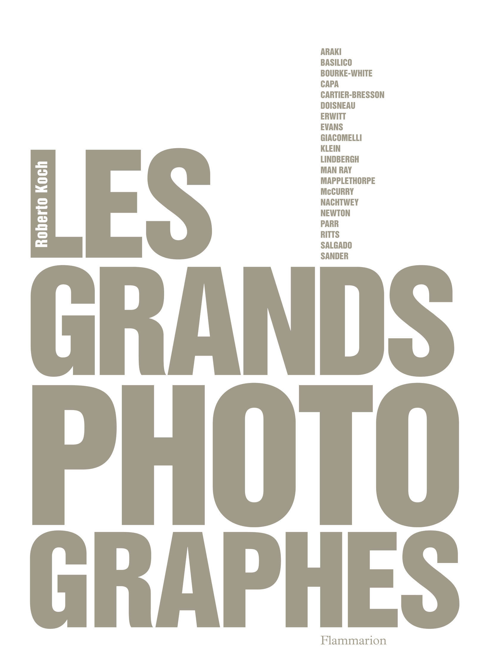 GRANDS PHOTOGRAPHES