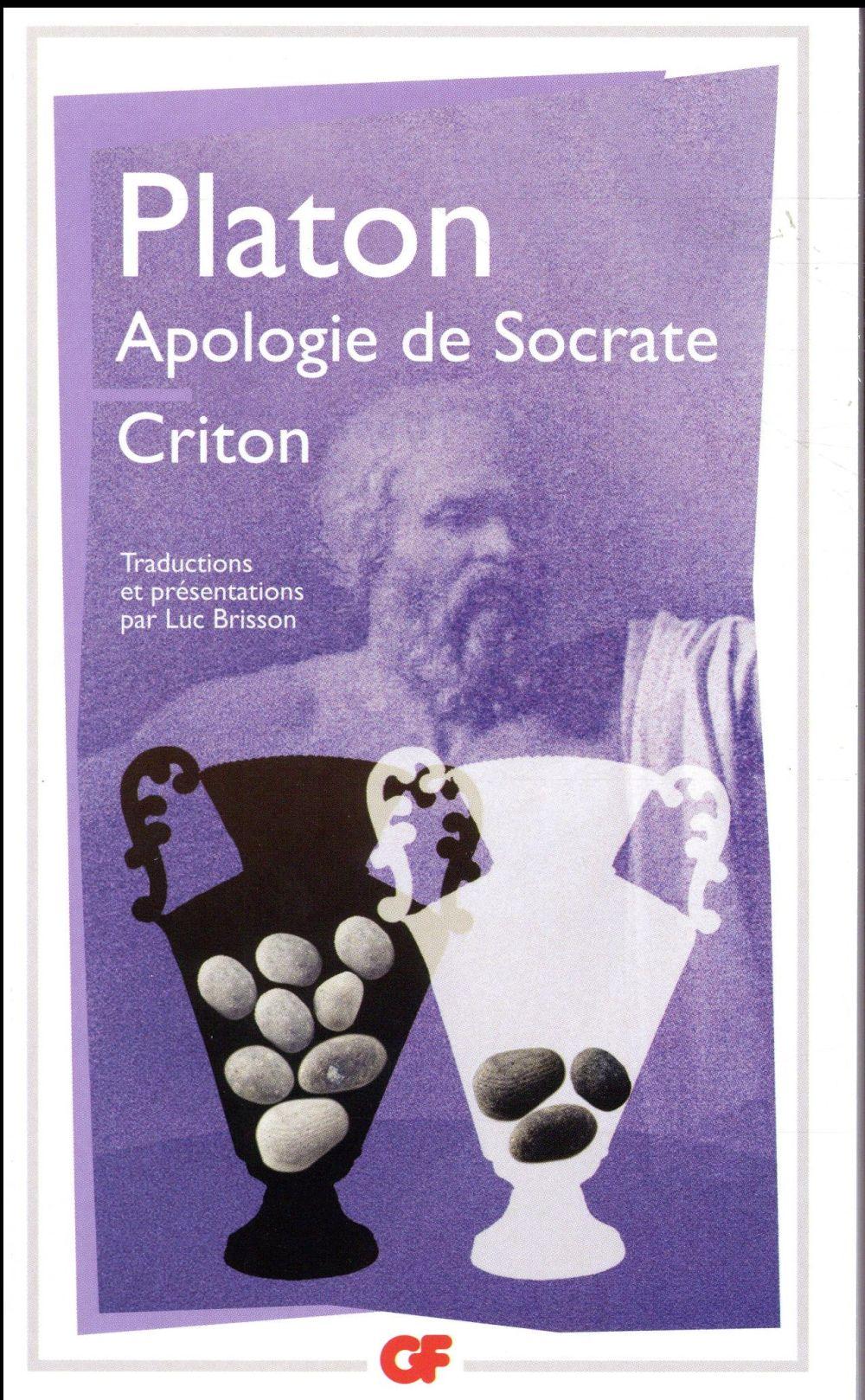 APOLOGIE DE SOCRATE- CRITON