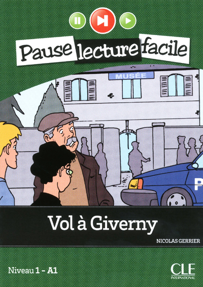 PAUSE LECTURE - VOL A GIVERNY + CD AUDIO