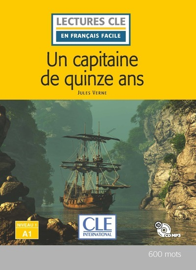 UN CAPITAINE DE 15 ANS - NIVEAU A1 + CD - 2EME EDITION