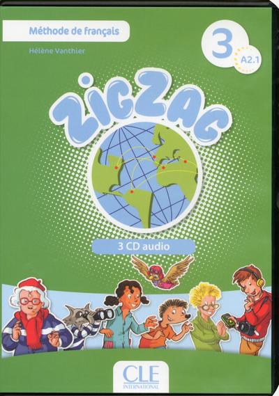 CD AUDIO COLLECTIFS ZIGZAG 3