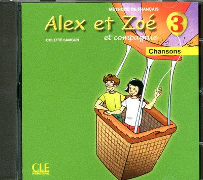 ALEX ET ZOE NIV.3 CD AUDIO