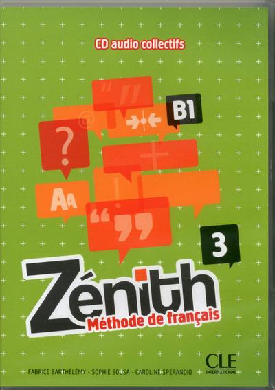 ZENITH NIVEAU 3 CD AUDIO COLL