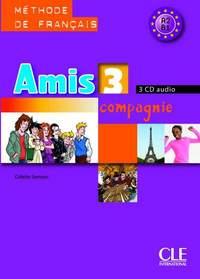 AMIS ET COMPAGNIE NIV 3 CD AUD