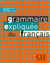 GRAMMAIR EXPLIQUEE DU FRANCAIS